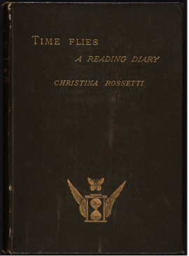 Cover design for CGR's Time Flies (1885).