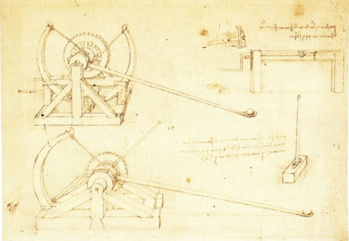 Leonardo da Vinci's Catapult | COVE on
