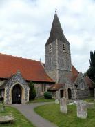 All Saints' Church, Burchington-on-Sea, Kent, England