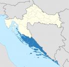 Map of the Kingdom of Dalmatia
