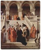 The death of Doge Marin Faliero by Francesco Hayez