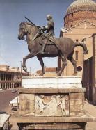 Donatello's equestrian statue of Gattamelata at Padua