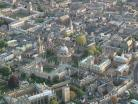 A photo of multiple colleges at Oxford University