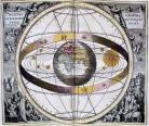Image depicting Geocentric model vs Heliocentric model
