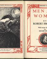 Frontispiece of Robert Browning's Men and Women (1855)