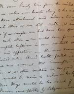 Letter Written By Charlotte Brontë About Emily's Death, 1849