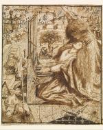 Dante Gabriel Rossetti, St. Cecilia (1856-1857)