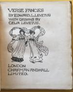 Verse Fancies Title Page