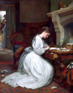 Yes or No? by Charles West Cope, 1872.