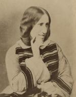 George Eliot, Albumen Print (1858, 1881)