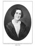 George Eliot, Engraving by Henry Davidson (1899)