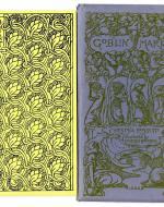 The cover page of the 1973 Green Tiger rendition of Christina Rossetti's Goblin Market, originally published in 1893