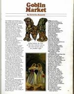scan of first page of Goblin Market feature in Playboy Magazine