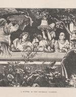 """A Supper in the Rucellai Gardens,"" full plate, Chapter 39"