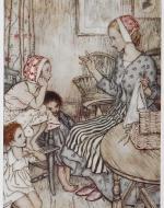 Laura the Storyteller, Goblin Market illustrated by Arthur Rackham