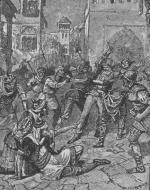 """Death of Zarca"" by W.L. Sheppard"