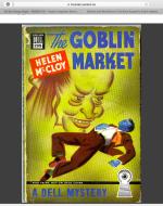 The Goblin Market cover art by Carl Mueller
