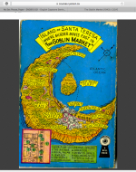 The back cover is printed with a Mapback; a crime map of the story