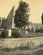 View of the Protestant Cemetery with the Cestius Pyramid