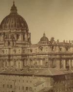"""St. Peter's Dome in the Vatican,"" Rome"