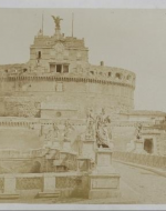 """The Castel and Bridge of St. Angelo,"" Rome"