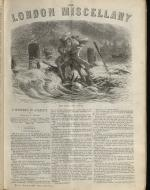 """The Storm on the Thames."" The London Miscellany 4 (3 Mar 1866), 49"