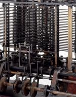 A picture of the Analytical Engine