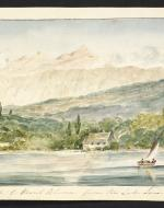 Painting of Mont Blanc by Edward Williams