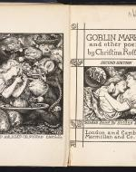 Goblin Market and other Poems. With two designs by D. G. Rossetti