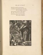 The Lady of Shalott, Lancelot mused, Moxon Edition