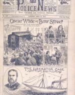 """Oscar Wilde at Bow Street"""