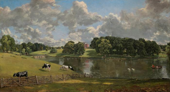 Constable's Wivenhoe Park painting