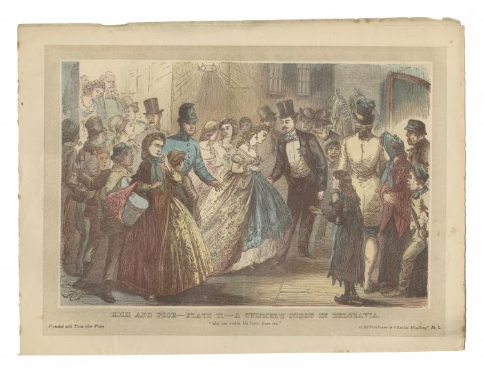 """""""Rich and Poor--Plate III.---Married Life in the Country."""""""