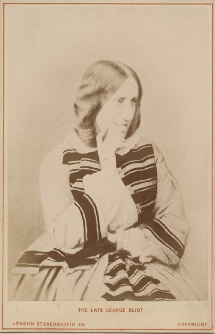 George Eliot, Albumen Print (1881)