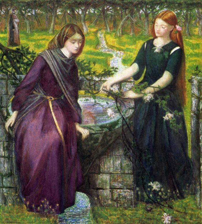 DGR, Dante's Vision of Rachel and Leah