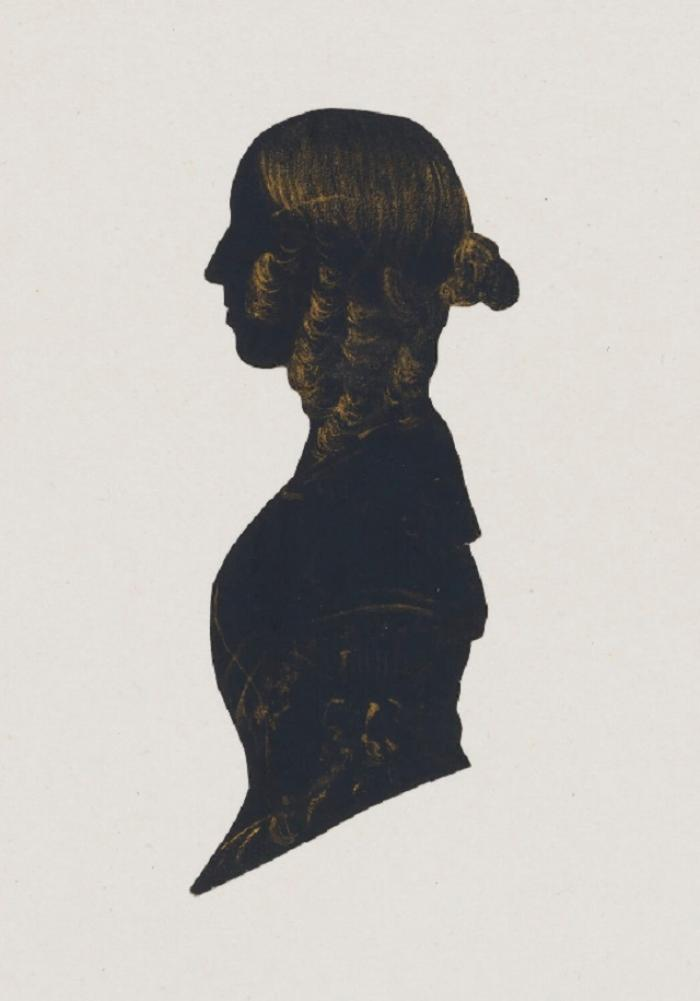 George Eliot, Silhouette by Unknown Artist (1838-1848)