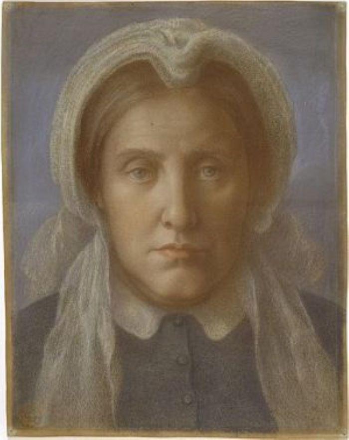 Dante Gabriel Rossetti, Mrs. Gabriele Rossetti (1877)