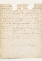 "manuscript of ""Praise and Prayer"""