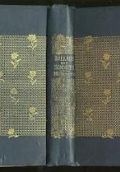 Binding of Ballads and Sonnets (1881)