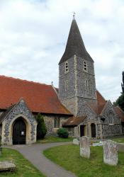 All Saints' Church, Burchington-on-Sea, Kent, England
