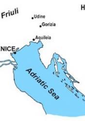 Area surrounding Friuli