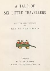 A Tale of Six Little Travellers Title Page