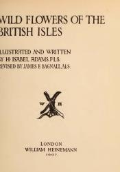 Wild Flowers of the British Isles Title Page