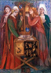 The Blue Closet, Dante Gabriel Rossetti