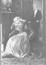 """""""Grandcourt and Gwendolen and the Poisoned Diamonds"""" by H. Winthrop Pierce"""