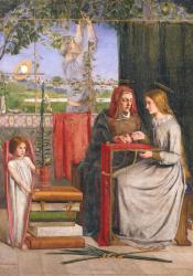 DGR, The Girlhood of Mary Virgin