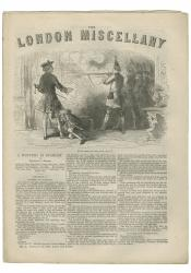 """""""'By order of the King, Fire!'"""" The London Miscellany 1 (10 Feb 1866), 1"""
