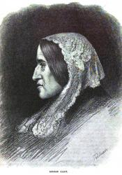 George Eliot, Engraving by Thomas Johnson (1881)