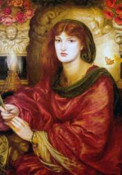 Rossetti, Sibylla Palmifera