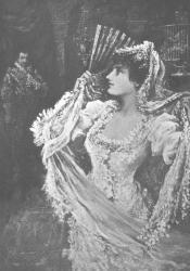 """""""Fedalma, The Spanish Gypsy"""" by W. St. John Harper"""